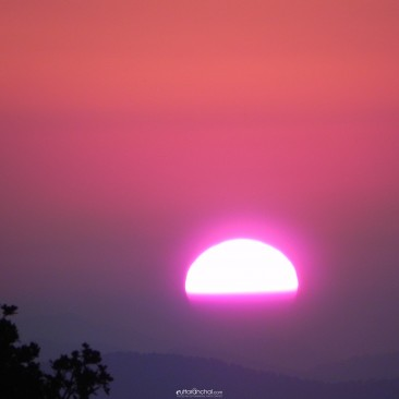 Sunset from Chopta