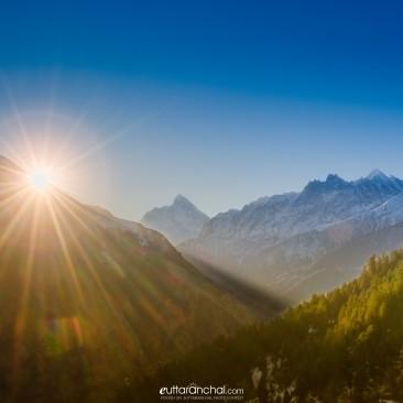 Morning Nanda Devi
