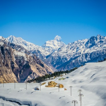 Auli Ski Slopes