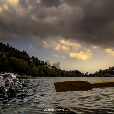 Splash of Naini Lake