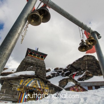 Tungnath Mahadev in Snow