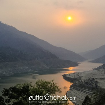 Tehri Sunset