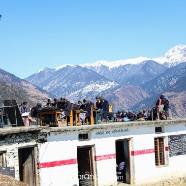 EDUCATION IN THE HIMALAYAS
