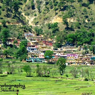 beautiful. village in tehri gadwal