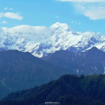 Three Shades of Mountain in Uttarakhand