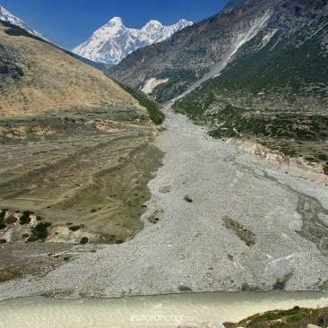 Confluence of Pachu nala and Gori Ganga