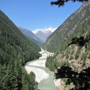 Beautiful Bhagirathi valley