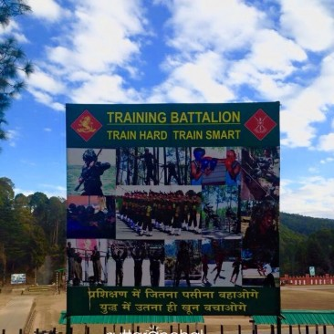 Kumaon Regiment- the pride of Ranikhet and UK.