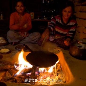 Making Chapati