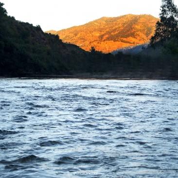 Ramganga River during Sunset