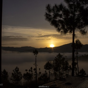Sunrise at Raun