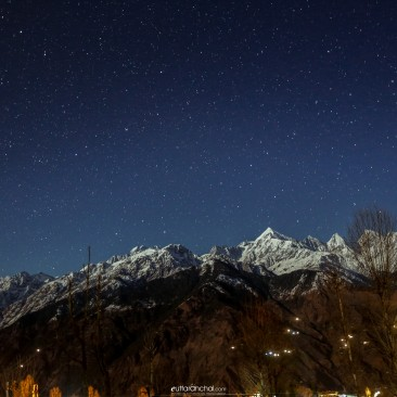 Moonlit Panchchuli Range