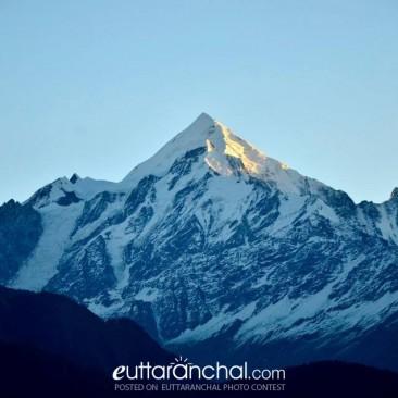Himalayas from Munsiyari