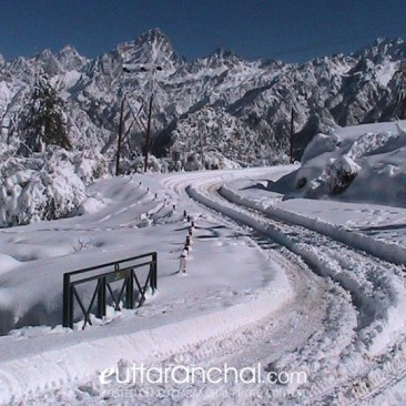 Auli during Winter Season