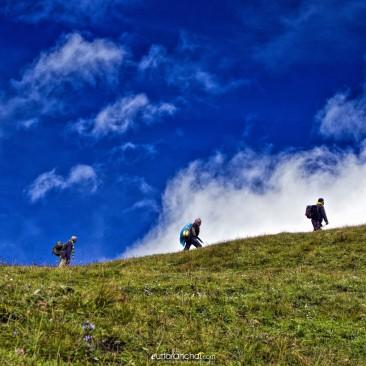 Pilgrims near Roopkund