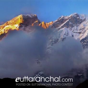 Sunset at Kedar, Uttarakhand,