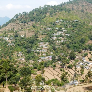 beauti of a hill village
