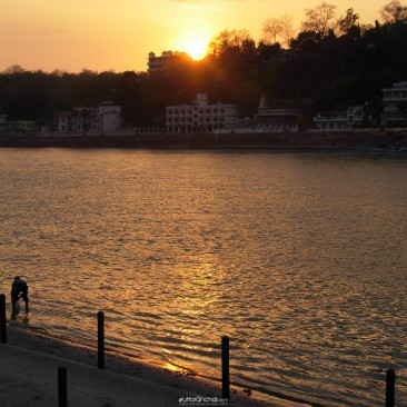 Sunset at Rishikesh