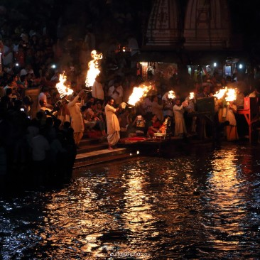 Aarti at Ganges, Haridwar