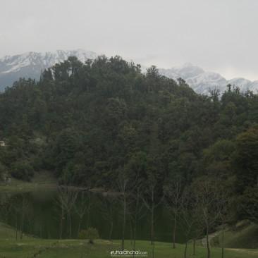 Lake & hills