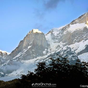 View of Kedar nath peak