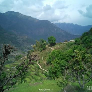A Beautiful village – Kalakot