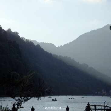 The Naini Lake before the Sunset